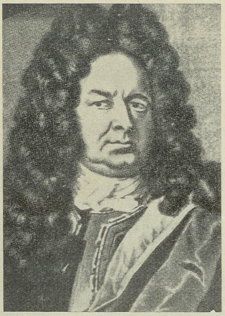 Portrait des Hans Carl von Carlowitz (1645-1714)